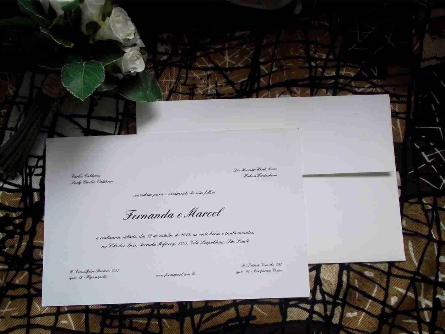 Convites Especiais